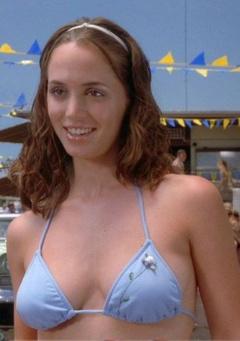 1. Eliza Dushku Sexy – Bring It On, 2000