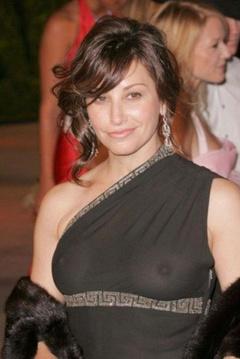 1. Gina Gershon See Through – Vanity Fair Oscar Party, 2006