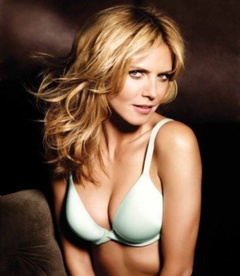 1. Heidi Klum – Perfect One Bra Ad, 2009
