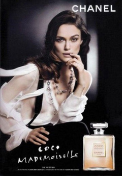 1. Keira Knightley – Chanel Lingerie Ad, 2009