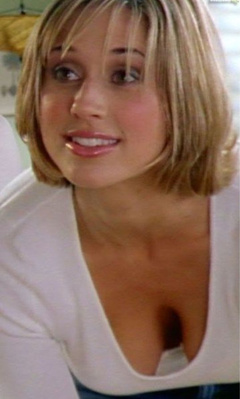 1. Kristen Miller Cleavage – She Spies, 2002