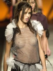 Adriana Lima See-Though – Sao Paulo Fashion Week, 2001