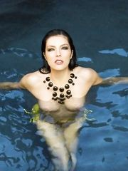 Adrianne Curry – topless, 2013