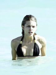 AnnaLynne McCord – black bikini, 2008