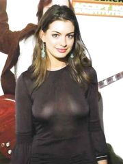 Anne Hathaway See Through – School of Rock Premiere, 2003