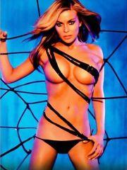 Carmen Electra Tits – 2005 Calendar, 2004