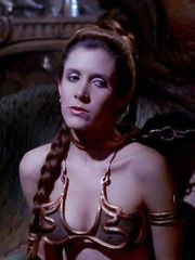 Carrie Fisher Sexy – Star Wars Episode VI - Return of the Jedi, 1983
