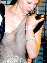 Claire Danes – Nip slip, 2009