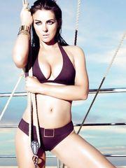 Elizabeth Hurley – Mango Bikini Ad, 2008