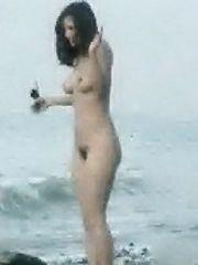 Francoise Pascal Naked – La rose de fer, 1973