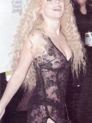 Geri Halliwell  in See-Through Dress – MTV Europe Music Awards, 1999