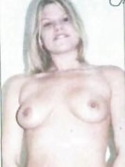 Jade Goody Topless – Sunday Sport, 2002