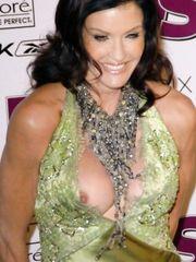 Janice Dickinson Nip Slip – Hollywood Style Awards, 2004
