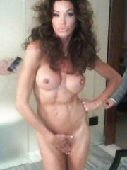 Janice Dickinson – nude photo shoot, 2011
