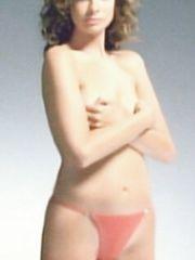 Katie Carr – Gossard G-String Ad, 2002