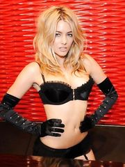 Katie Downes in Black Lingerie– Ann Summers Marble Arch store launch, 2008