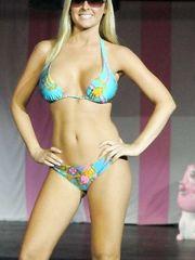 Katie Lohmann in Bikini – Celebrity Catwalk for Charity, 2008