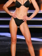 Katie Stam in Lingerie – The Miss America pageant , 2008