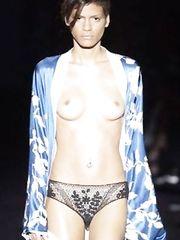 Omahyra – topless catwalk, 2002