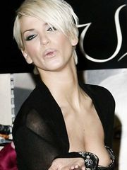 Sarah Harding – Nip slip at the Launch of the New Lingerie Department, 2007