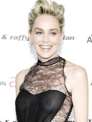 Sharon Stone Naked – Elton John AIDS Foundation's Academy Awards, 2009