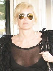 Sharon Stone – nipple slip, 2007