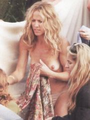 Sheryl Crow – topless - changing clothes, 2005