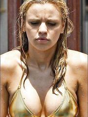 Stephanie McMichael – gold bikini, 2008
