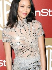 Thandie Newton See-Through – Golden Globe Awards, 2013