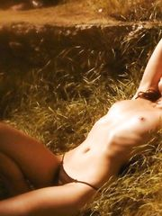Zrinka Dozic – topless photoshoot, 2001