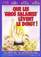 Que les gros salaires levent le doigt!