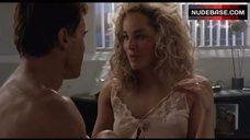 7. Sharon Stone Nip Slip – Total Recall