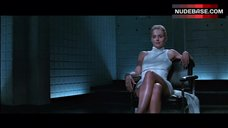 1. Sharon Stone Pussy Scene – Basic Instinct