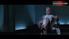 2. Sharon Stone Pussy Scene – Basic Instinct