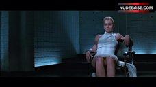 4. Sharon Stone Pussy Scene – Basic Instinct