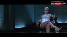 7. Sharon Stone Pussy Scene – Basic Instinct