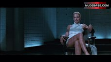 8. Sharon Stone Pussy Scene – Basic Instinct