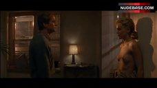 2. Sharon Stone Boobs Exposed – Basic Instinct