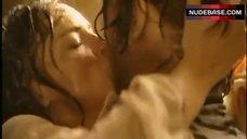 2. Sharon Stone Boobs Scene – The Quick And The Dead