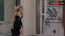 Sexy Sharon Stone in Black Dress – Gloria