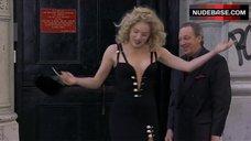 5. Sexy Sharon Stone in Black Dress – Gloria