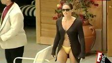 2. Sharon Stone Yellow Bikini Bottom – E! True Hollywood Story