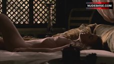 1. Kerry Condon Nude In Bed – Rome