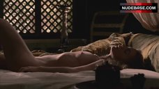 2. Kerry Condon Nude In Bed – Rome
