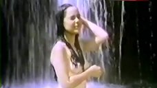 8. Cristina Gonzales Boobs, Ass Scene in Waterfall – Bad Girl