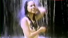 9. Cristina Gonzales Boobs, Ass Scene in Waterfall – Bad Girl