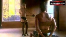 Lindsay Maxwell Boobs, Lingerie Scene – Deep Evil