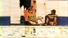 Nuria Hosta Topless Sunbathing – La Rubia Del Bar