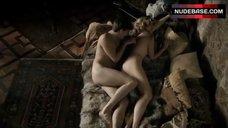 1. Alexandra Vandernoot Nude in Bed – The Crown Prince