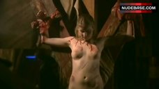 Andrea Runge Full Frontal Nude on Cross – The Lost Angel